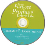 """excerpt from From Purpose to Promise driven life: A Prescription for Making the Difference your were Born to Make by Dr. Therman E. Evans"""" ]  excerpt from From Purpose to Promise driven life: A Prescription for Making the Difference your were Born to Make by Dr. Therman E. Evans"""