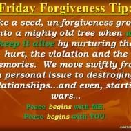 Like a seed unforgiveness grows