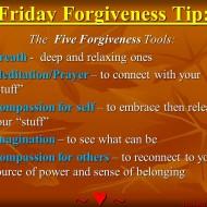 Forgiveness Tip Time…