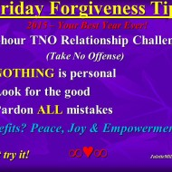 Forgiveness Tip Time