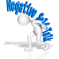How to handle internal negativity